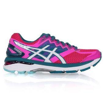 【ASICS】GT-2000 4 女慢跑鞋- 路跑 亞瑟士 亞瑟膠 桃紅湖水綠