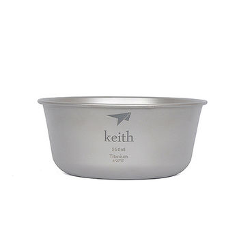 Keith純鈦 KT321碗(550ml)
