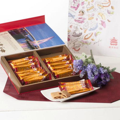 【義美】肉鬆蛋捲禮盒*4盒(208g/盒 附提袋)
