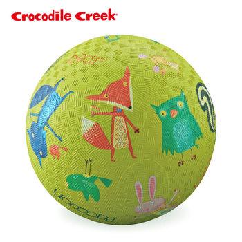 【美國Crocodile Creek】7吋兒童運動遊戲球-森林動物