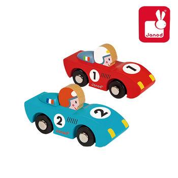 法國Janod創意兒童智玩-F1急速狂飆-飆速款