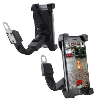 【IS愛思】機車手機固定支架 減震防滑材質 防滑PU固定夾 穩固牢靠