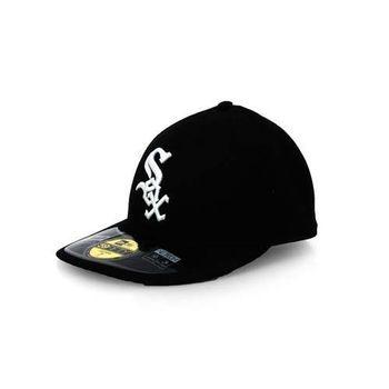 【MLB】白襪隊-NEW ERA 帽子-LOW CROWN  棒球 球員帽 黑白