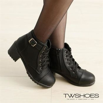 【TOMO】圓弧釦環短靴【K166C2612】