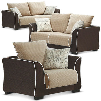 【MY傢俬】休閒日式簡約舒適布面沙發全組