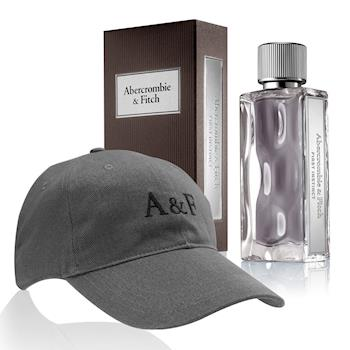 【ABERCROMBIE  FITCH】AF同名經典男性淡香水100ml(送品牌帽-限量30組)
