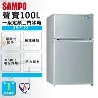 ~SAMPO聲寶~ 100公升定頻雙門冰箱 ^#40 SR ^#45 P10G ^#41