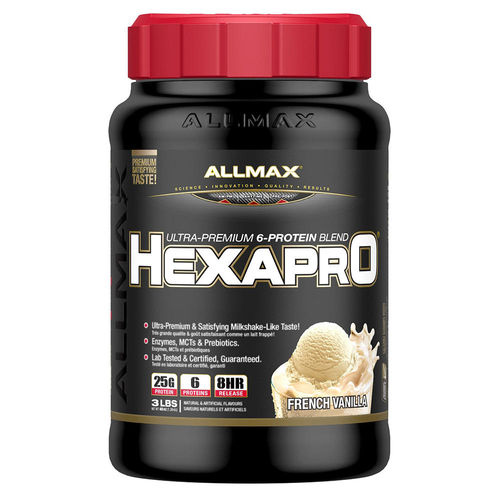 【加拿大ALLMAX】奧美仕奶昔乳清蛋白香草口味飲品1瓶 (3磅)