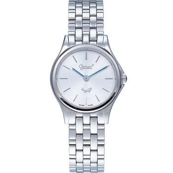 Ogival 瑞士愛其華  都會新時尚石英腕錶/26mm  829LS