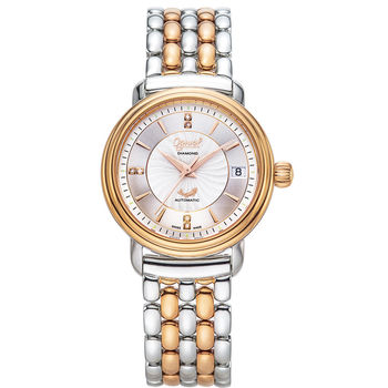 Ogival 瑞士愛其華  雅仕鑽石自動機械腕錶 3363AJBSR