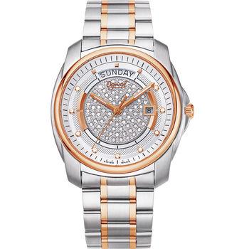 Ogival 瑞士愛其華  璀璨鑽石自動機械腕錶 3362-6AJGSR