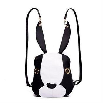 【米蘭精品】後背包兔子雙肩包俏皮可愛休閒時尚4色73fd43