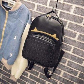 【米蘭精品】後背包鱷魚紋雙肩包韓版學生時尚流行2款73fd53