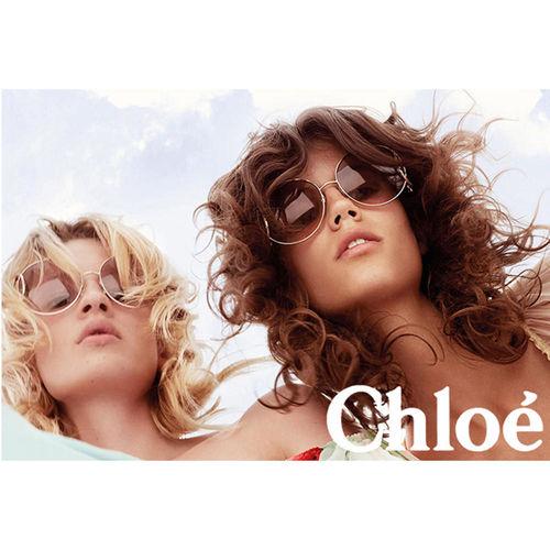 CHLOE太陽眼鏡 廣告款(金色)CE124S-724