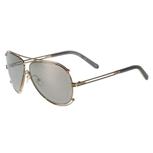 CHLOE太陽眼鏡 廣告款(玫瑰金)CE121S-744