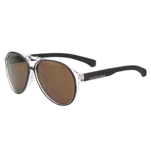 Calvin Klein- 帥氣雷朋型太陽眼鏡(黑色)CKJ805SAF-001