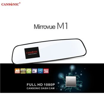 CANSONIC Mirrovue M1後視鏡型行車記錄器-CAN-M1