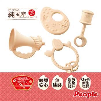 【日本People】◤日本製◢新米的玩具4件組合