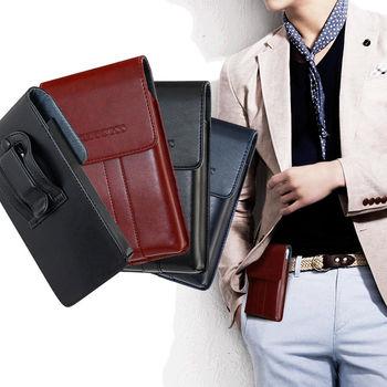 CB iphone7 plus / iphone7 pro 系列 5.7吋以內 帥氣直立手機腰包皮套(TPU清水套或框殼都裝的下)
