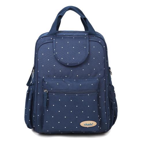 【YABIN台灣總代理】加大容量雙開拉鍊可掛行李箱媽媽包