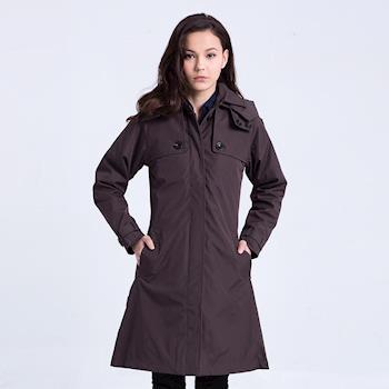 ST.MALO 典藏大衣式單排太陽棉風衣
