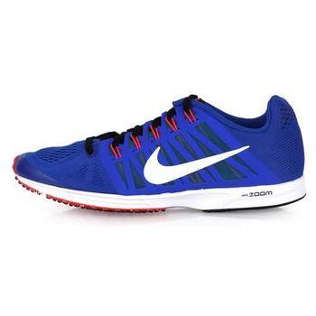 【NIKE】AIR ZOOM SPEED RACER 6 男女路跑鞋- 慢跑 藍螢光粉