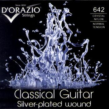 DORAZIO 義大利手工製 NO.642 古典吉他弦 (鍍銀、水晶尼龍)