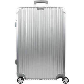 【RAIN DEER】 香榭玫瑰24吋PC鏡面海關鎖行李箱(鈦金銀)
