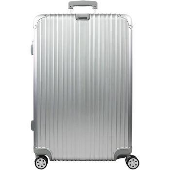 【RAIN DEER】 香榭玫瑰20吋PC鏡面海關鎖行李箱(鈦金銀)