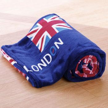 Lapin 彩旗 四季保暖法蘭絨毯(150x190cm)