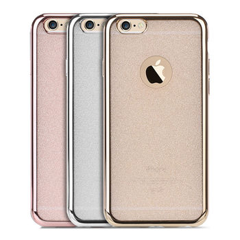 【Oucase】Apple iPhone 6/6S Plus 錦衣電鍍 TPU 套