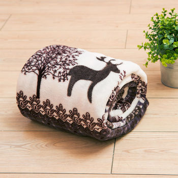 Lapin 麋鹿 四季保暖法蘭絨毯(150x190cm)