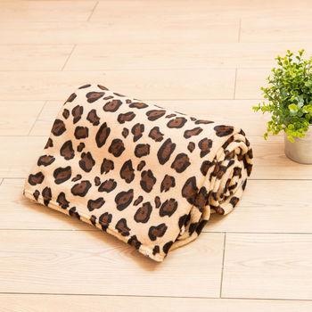 Lapin 小豹 四季保暖法蘭絨毯(150x190cm)