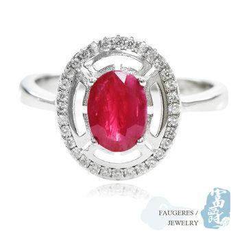 【富爵珠寶】天然紅寶石-紅火之舞戒指-T0027S_2
