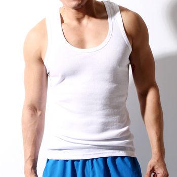 TELITA-男內衣 型男運動背心 白色