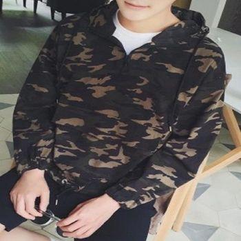 【協貿國際】迷彩夾克男士長袖外套單件