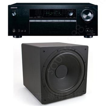 劇院喇叭組 ONKYO TX-SR353 5.1聲道擴大機 + ENERGY POWER 12 SUB 12吋 超重低音喇叭