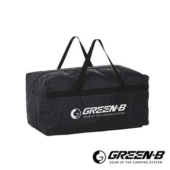 GREEN-B 100L大容量戶外露營裝備收納包 旅行袋 黑色
