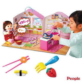 【日本POPO-CHAN】POPO-CHAN會說話的廚房客廳組合+筷子叉子學習組合