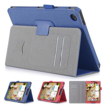 ASUS 華碩 ZenPad 3 8.0 Z581KL 平板電腦皮套 磁釦保護套 可手持帶筆插卡片槽 牛皮紋路