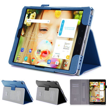 ASUS 華碩 ZenPad 3S 10 Z500M 平板電腦皮套 磁釦保護套 可手持帶筆插卡片槽 牛皮紋路