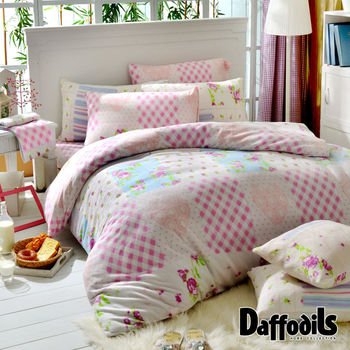 Daffodils《傾香之戀》超保暖雪芙絨雙人四件式被套床包組