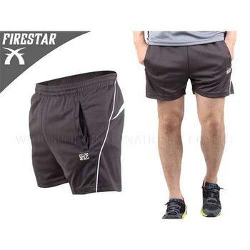 【FIRESTAR】男短褲 深灰  100%聚酯纖維