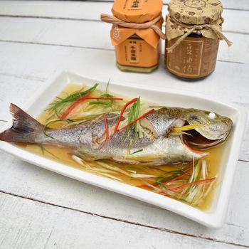 【魚博士-魚霸】野生現撈黃雞魚1尾(200g/尾)