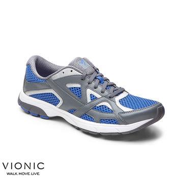 【美國VIONIC法歐尼】機能運動鞋 Gamin嘉米(藍灰、黑灰)-男鞋
