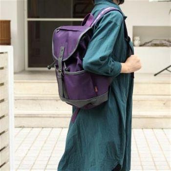 【OVE】率性民族風圖騰後背包(紫色)