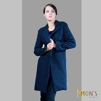 MONS冬日質感長版西裝外套