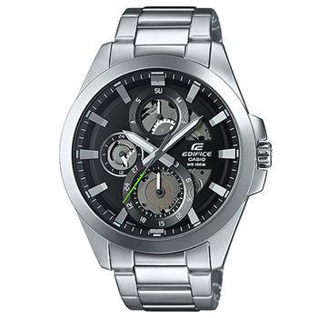 CASIO 卡西歐 EDIFICE 魅力科技時尚賽車腕錶-45mm/ESK-300D-1A