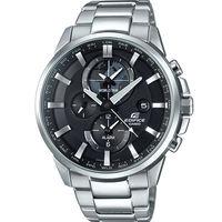 CASIO卡西歐 EDIFICE 世界地圖新風範三眼腕錶 ^#45 46.3mm ^#47