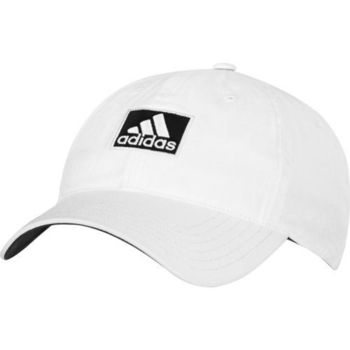 【Adidas】2016男時尚全棉高爾夫球白色帽子(預購)